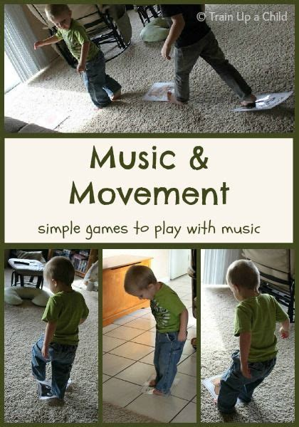 Music and movement builds vocabulary, teaches rhythm and rhyme, and is a natural stress reliever. Music and Movement Games for Kids ~ Learn Play Imagine | Music and movement, Music for toddlers ...