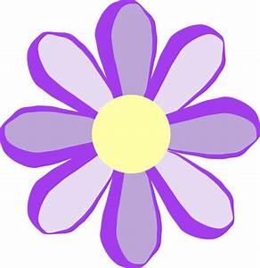 Purple Flower Clipart - Clipart Suggest