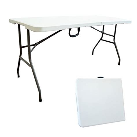 table traiteur pliante 152 cm table buffet cing pliable avec poign 233 e