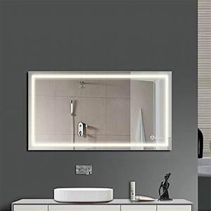 Wandleuchte Für Spiegel : anten spiegel led bad beleuchtung 60 x 60 cm 18 w spiegel badezimmerspiegel wandleuchte f r ~ Markanthonyermac.com Haus und Dekorationen