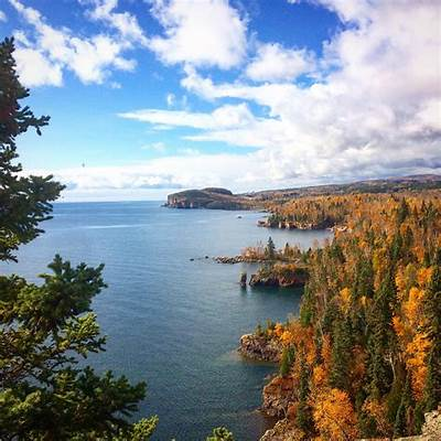 North Shore of Lake Superior Minnesota USA [OC