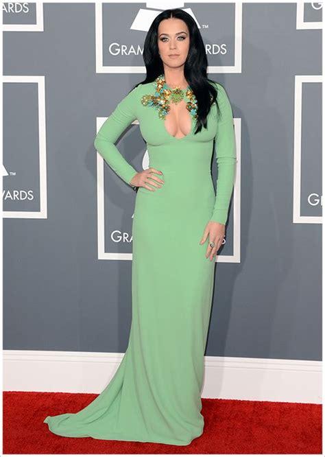 Katy Perry @ 2013 Grammy Awards Photos – Makeup, Dress ...