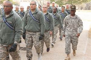 Basic training Soldiers jump in after holiday break ...