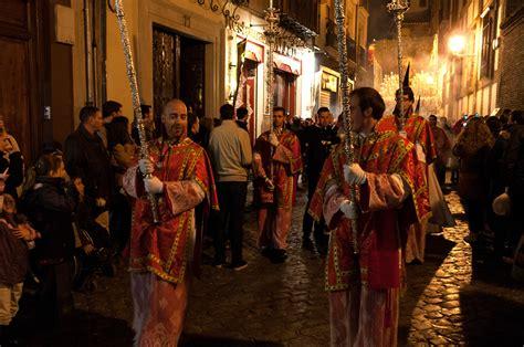 filesemana santa procession  granada spain