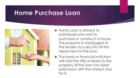 Different Types Of Home Loan