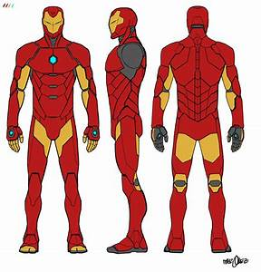 Iron Man armor concept by David Marquez courtesy Marvel