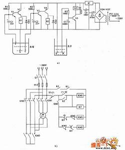 Agricultural Automatic Water Supply Device Circuit Diagram