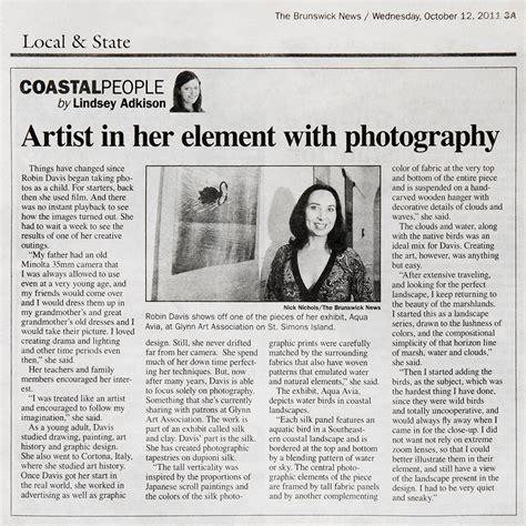 Robin Davis Photography Press Articles  Robin Davis