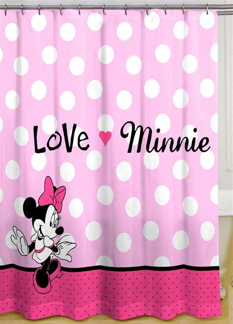 disney minnie mouse shower curtain home bed bath