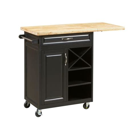kitchen islands home depot 1 drawer laminate kitchen cart with large worktop in