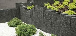 Granit Palisaden 20 Ideen Fr Schne Gartengestaltung