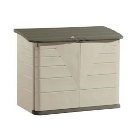 rubbermaid shed accessories home depot rubbermaid 2 ft x 5 ft horizontal storage shed