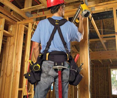 dewalt  pocket framers apron tool nail bag