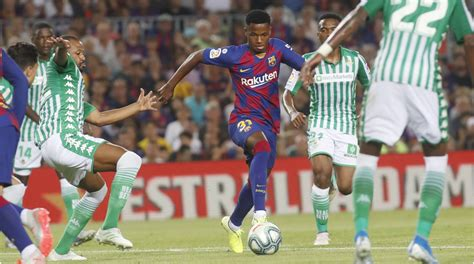 ansu fati  youngest barca player   years real