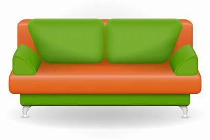 Sofa Vector Illustration Furniture Vecteezy Vectors Clipart
