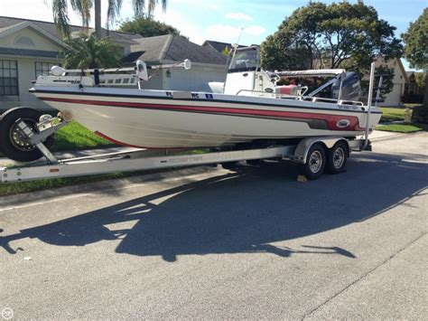 Skeeter Boat Center by 2005 Used Skeeter Zx24 Bay Center Console Fishing Boat For