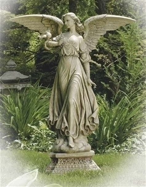 outdoor angel statues outdoor