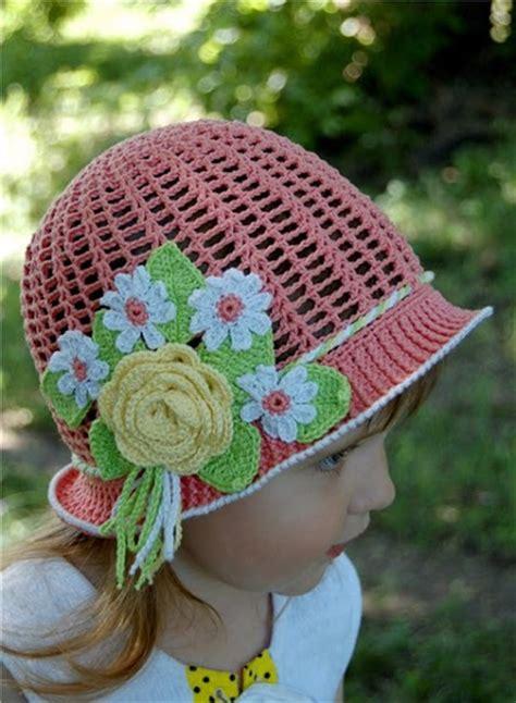 diy crochet pretty panama hat  girls page