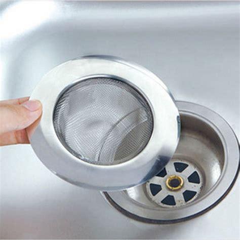 kitchen sink filters 1pc steel kitchen sewer sink strainer filter barbed 2706