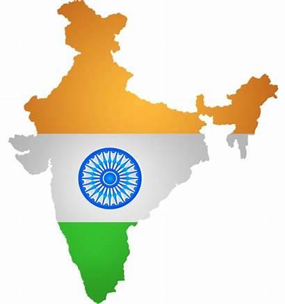 India Map Flag Clip Clipart Transparent Culture