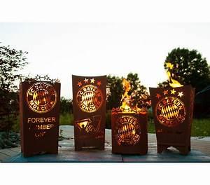 Feuerkorb Bayern München : fcb feuerkorb mia san mia eckig dehner garten center ~ Lizthompson.info Haus und Dekorationen