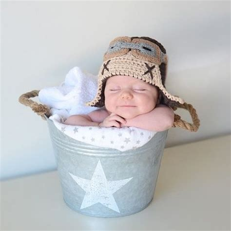 gorro crochet aviador  recien nacido gorro pequenito
