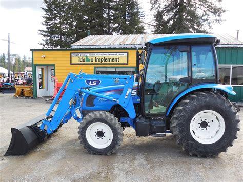 Sjaak on kathy set 015. LS Model XU6168CPS Utility Tractor & Loader, Enclosed Cab, Heat & AC, 68HP Diesel Engine, 4WD ...