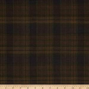 Cozy Yarn Dye Flannel Large Plaid Brown - Discount