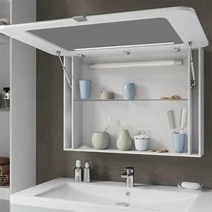 Bad Spiegelschrank 80 Cm Breit : led spiegelschrank falsterbo 80 cm wei hochglanz real ~ Bigdaddyawards.com Haus und Dekorationen