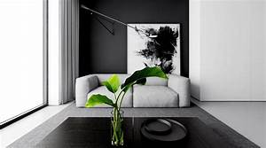4 monochrome minimalist spaces creating black and white magic for Quelle couleur avec le gris 0 4 monochrome minimalist spaces creating black and white magic