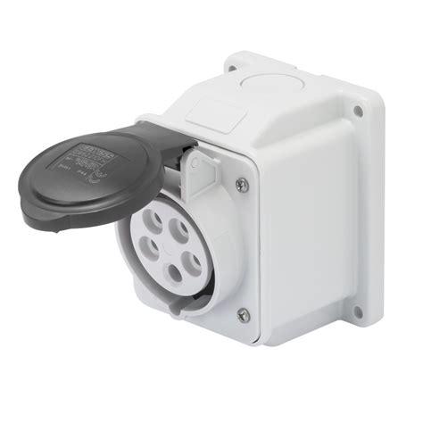 Mobile Mounting Socket 32a 2p socket outlet gw62411 gewiss