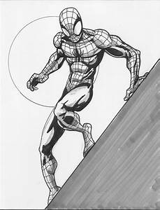 Spiderman Sketch - Chillustrators