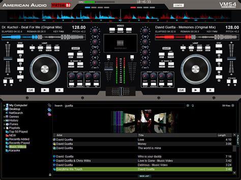Virtual Dj Club Sound System Speaker Digital Laptop 1tb