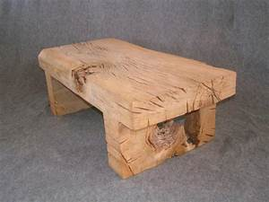 oak table from one piece of wood forest creations With piece of wood coffee table
