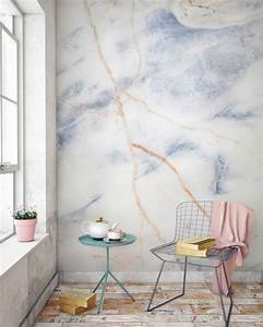 Murals wallpaper releases a marble collection design milk