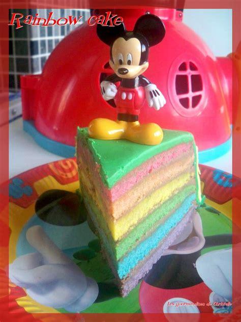 rainbow cake les gourmandises de christelle