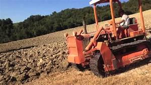 Aratura Trattore Cingolato Fiat Ad 70 A Due Vomeri Azienda Agricola  Ara Giannetto