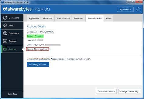 malwarebytes anti malware premium  lifetime licenses
