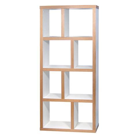 largeur meuble cuisine temahome etagère bibliothèque berlin 4 niveaux 70 cm blanc bois etagère bibliothèque temahome