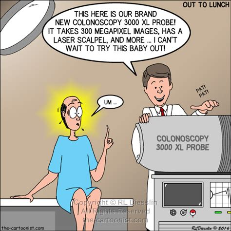 colonoscopy  xl probe otl cartoon june