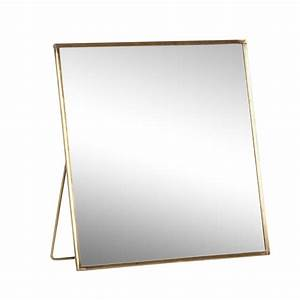 Petit Miroir Carré : petit miroir sur pieds carr h bsch ~ Teatrodelosmanantiales.com Idées de Décoration