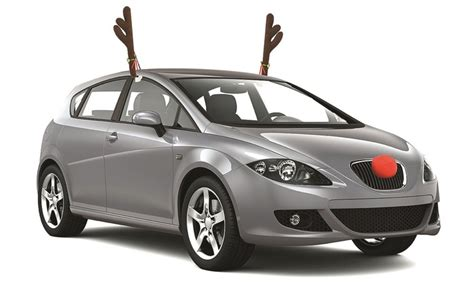 reindeer car decoration set groupon