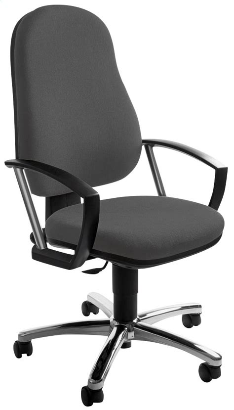 topstar chaise de bureau point anthracite collishop