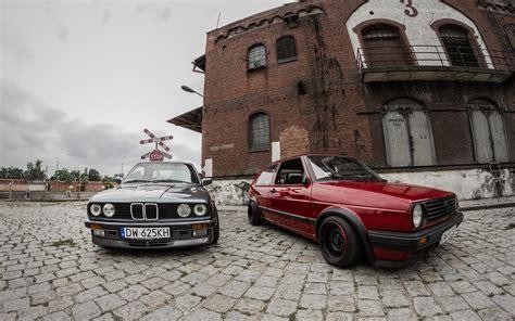 volkswagen bmw hd black bmw and red volkswagen wallpaper download free