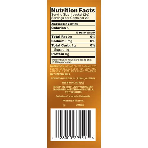 It forms part of the food and beverage division of the j.m. Folgers Hazelnut Coffee Nutrition Facts | Besto Blog