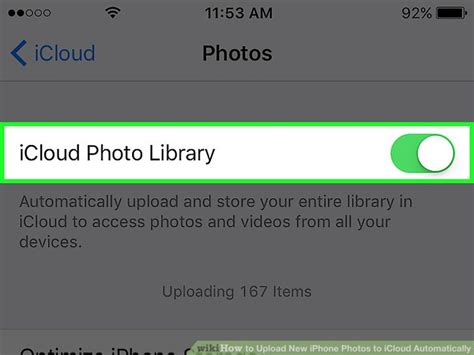 how to upload photos to icloud from iphone how to upload new iphone photos to icloud automatically 6