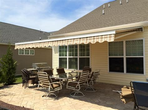 retractable awning price guide   motorized awning prices