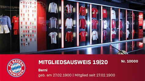 Weshalb soll der impfausweis digital sein? Mitgliedsausweis ab sofort auch in digitaler Form - FC Bayern München