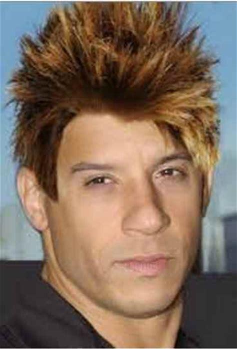 vin diesel shaggy haircut blonde hair style