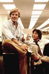 Robert Redford with Dustin Hoffman in All the President's ...